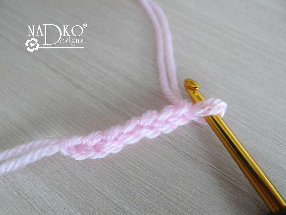 как да изплетем панделка