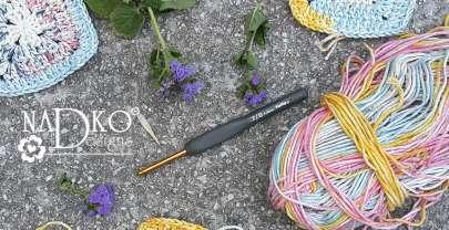 Фото и видеоурок: как се плете бабино квадратче на една кука