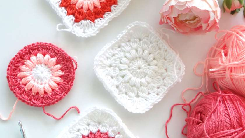 Фотоурок: Sunburst Granny Square