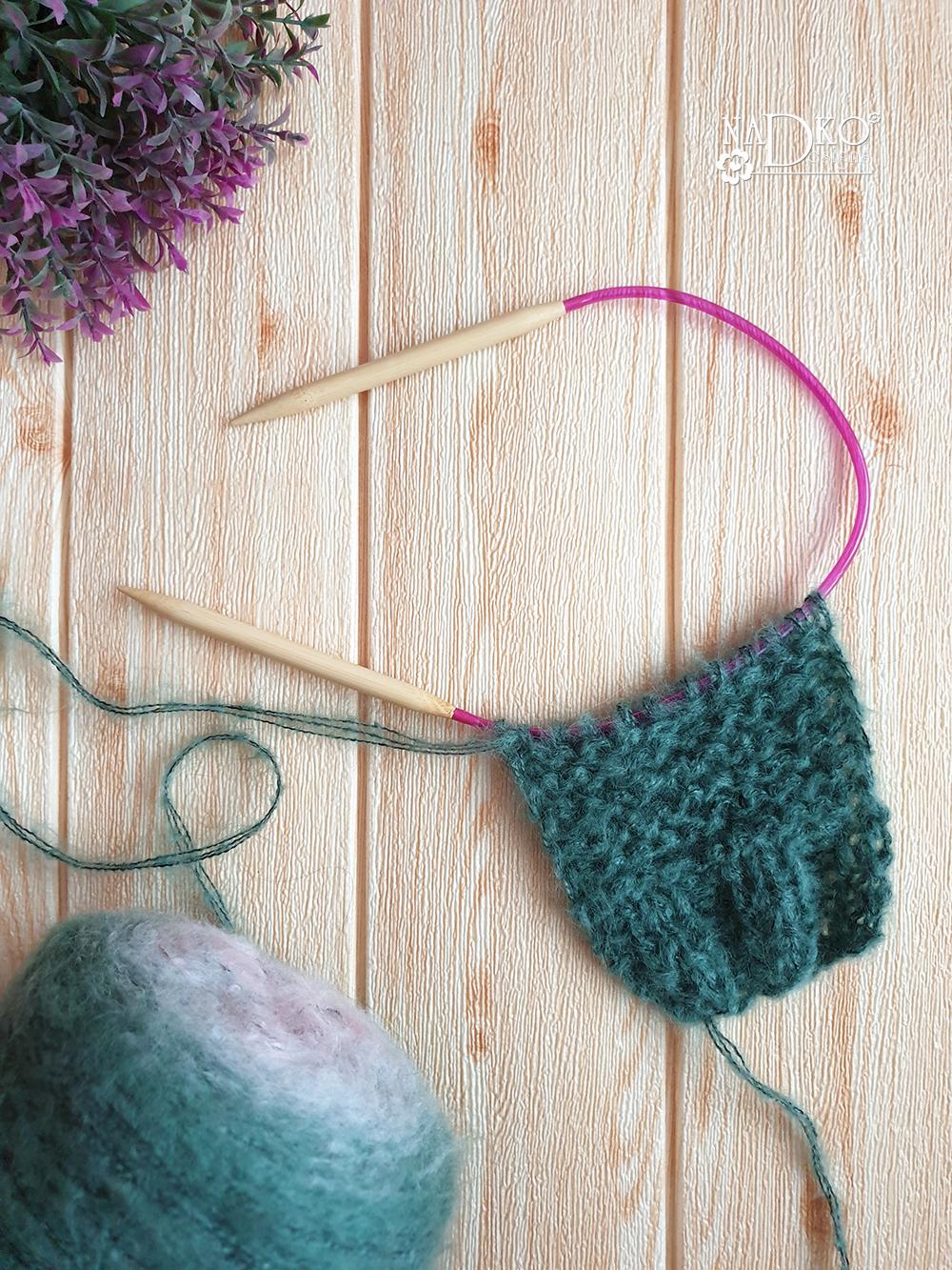 """Предварителна подготовка за плетенето на жилетка """"Пудинг"""": мостра и взимане на мерки"""