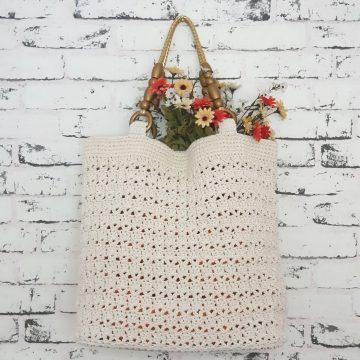 Онлайн курсът за плетене на чанта HELEN е готов!